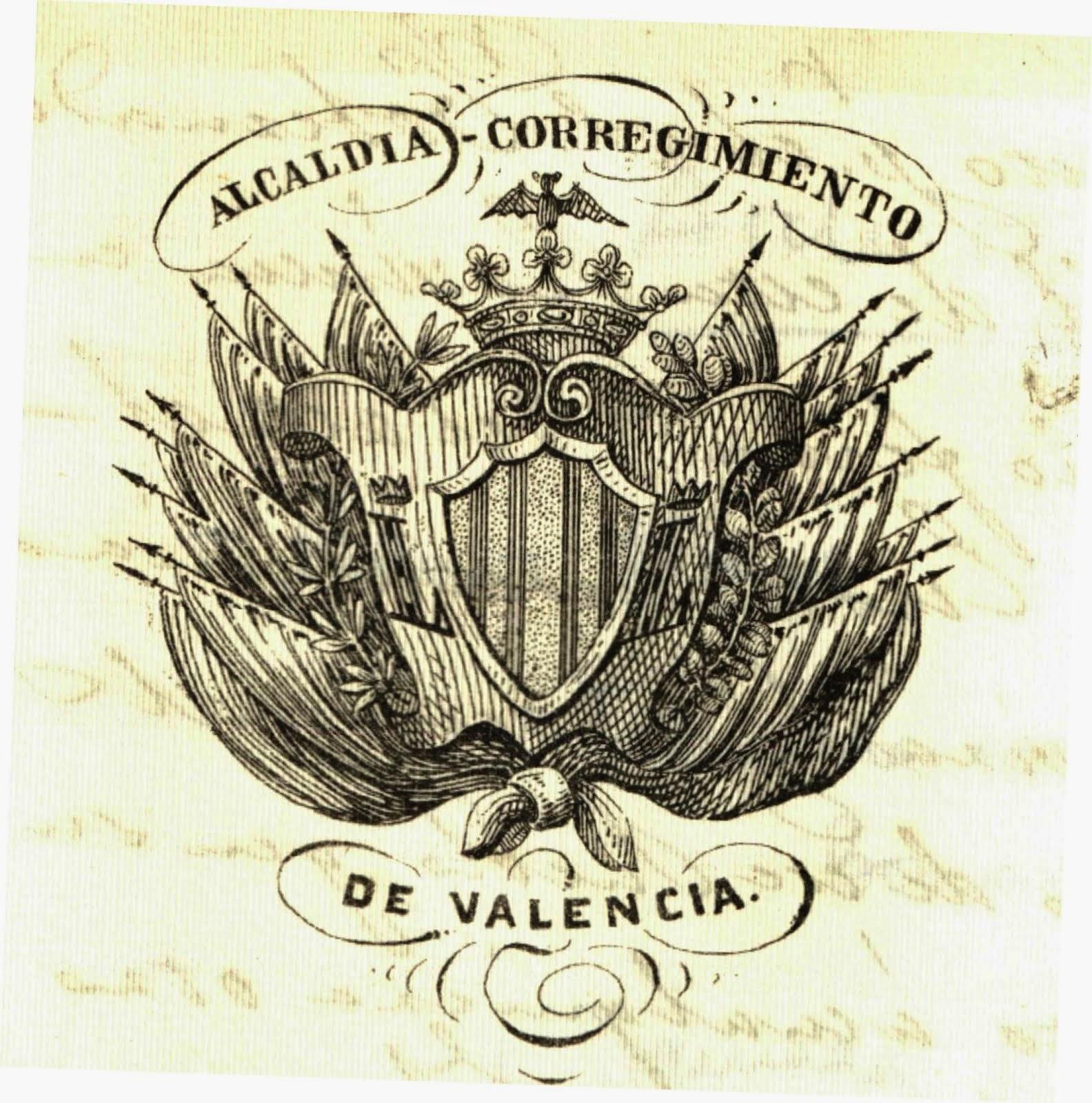 ESCUDOS, SELLOS Y MEMBRETES DE VALENCIA