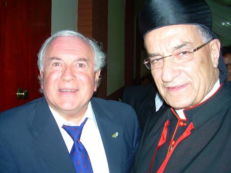 Villa Linch: Visita del Patriarca Maronita