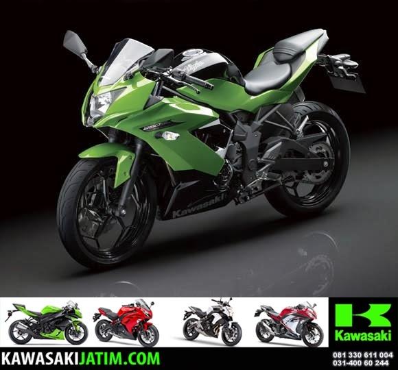 rangka ninja 250SL Mono keren