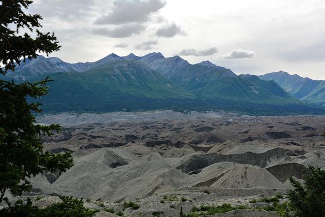Kennicott Glacier Lodge glacier