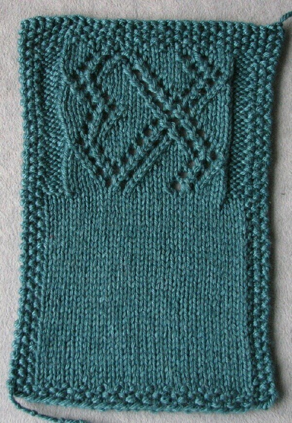 Knitting Gauge Definition : Stitches of violet my yarn talks to me part