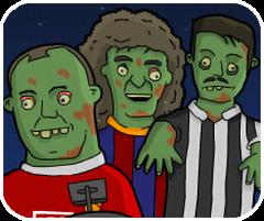 đá bóng Zombie, chơi game thể thao đá bóng hay tại gamevui.biz