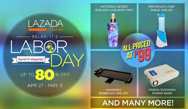 Lazada Labor Day Promo