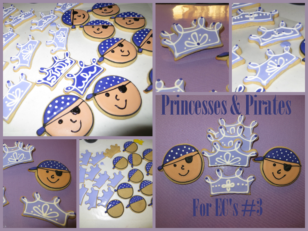 Tiara Cookies, Pirate Cookies