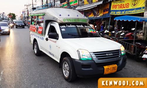 thai krabi taxi