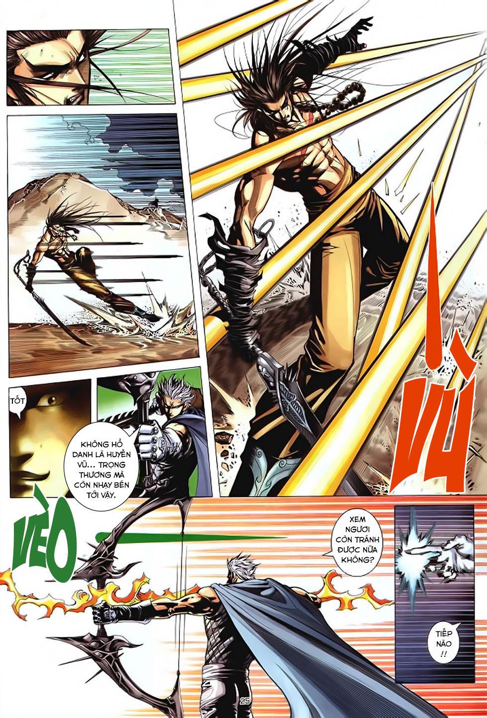 Chiến Thần Ký chap 39 - Trang 26