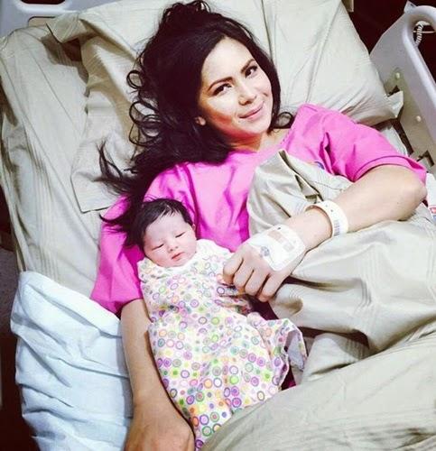 wajah bayi Che Ta dan Zain Saidin, Program Pureen Chak Chak Che Ta dan Zain Saidin, jantina bayi Che Ta dan Zain Saidin perempuan