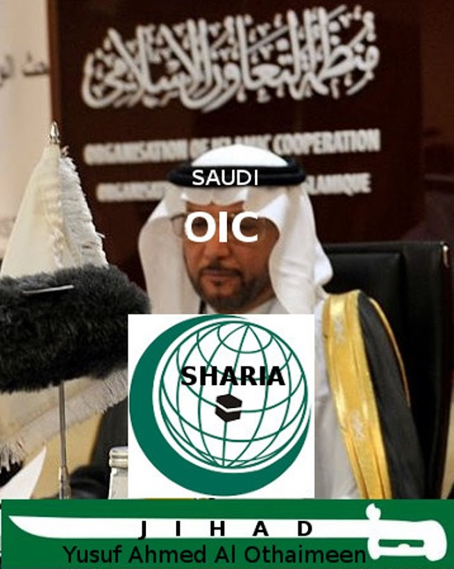 The Saudi Fuhrer of Saudi based islamofascist OIC