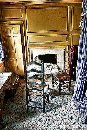 Washington Slept Here Too, His Bedroom At Valley Forge.