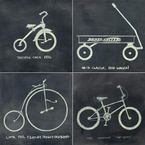 Ange from Lushlee designed this awesome bike/wheel art that I love! It ...