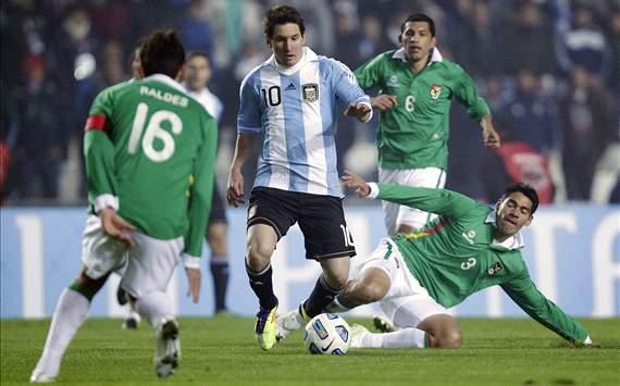 Kèo thơm chắc thắng Argentina vs Bolivia