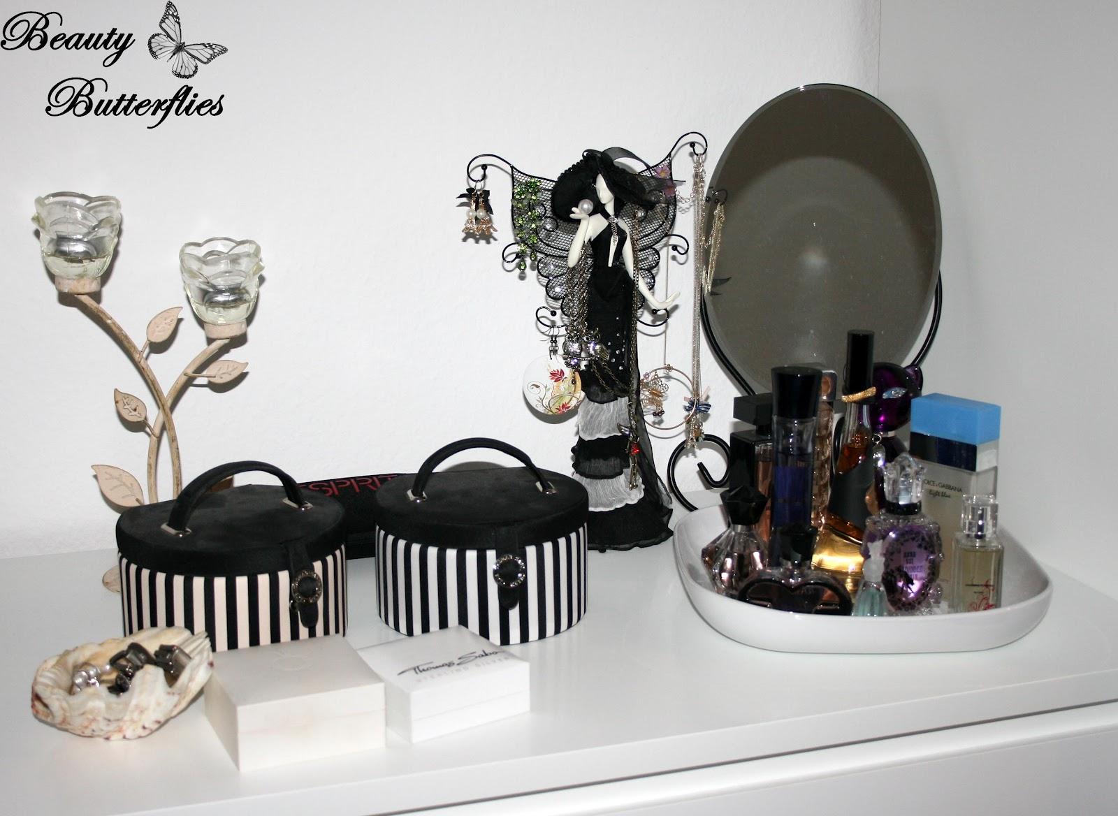 deko-tipp für beauty-freaks teil i – parfum aufbewahrung, Schlafzimmer entwurf