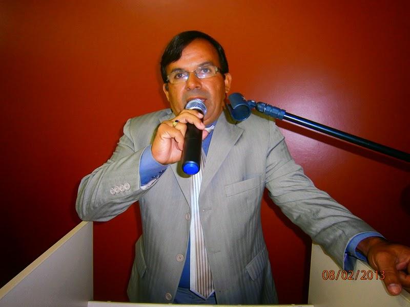 Vereador Valmir Salgueiro