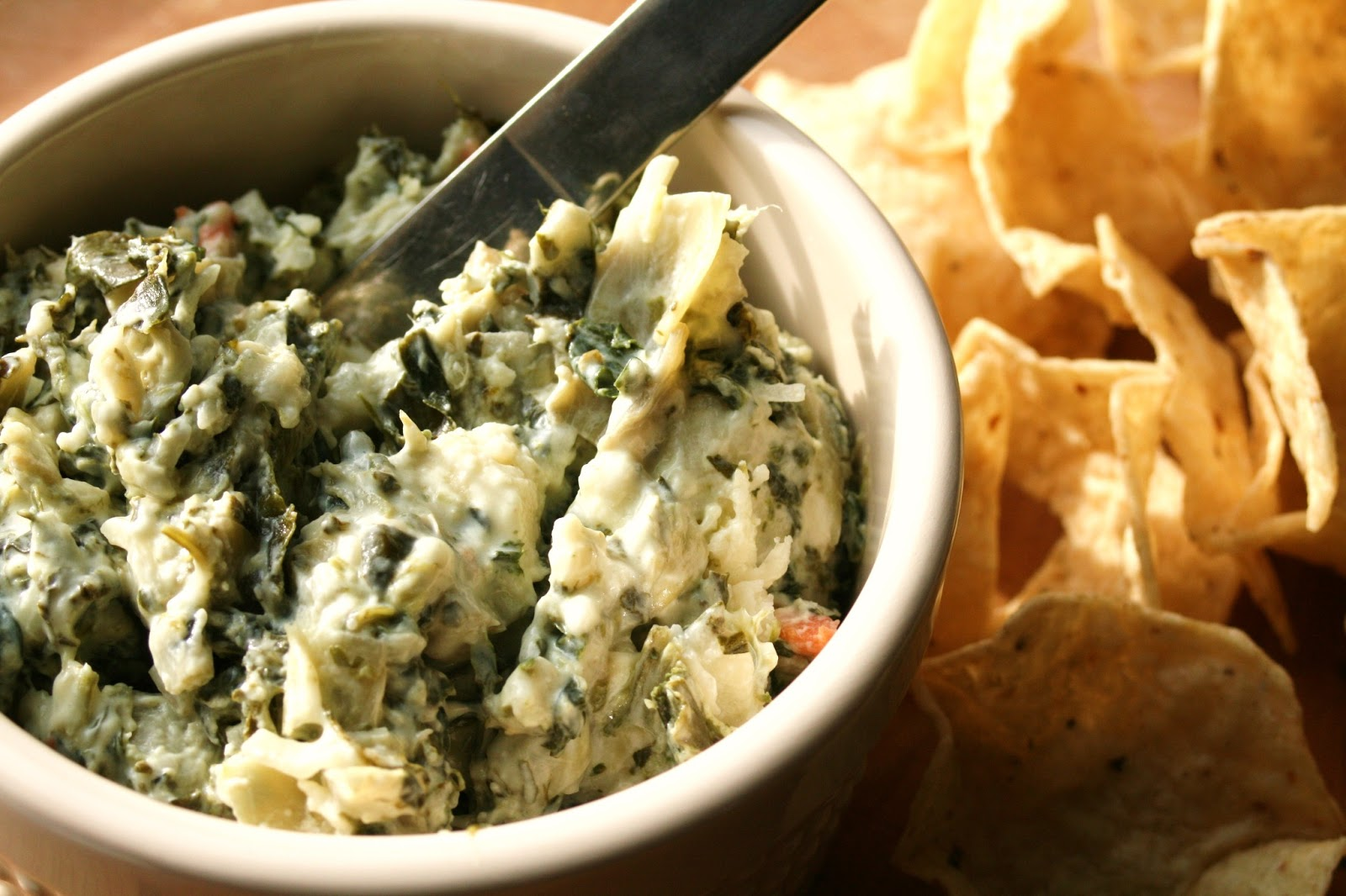 Thee Cook: Ooey Gooey Hot Spinach and Artichoke Dip
