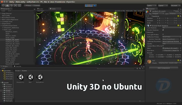 Unity 3D no Ubuntu