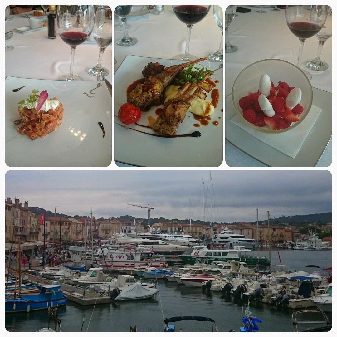 Maliva s verden reisebrev fra mine kunder i port grimaud - Restaurant la table du mareyeur port grimaud ...