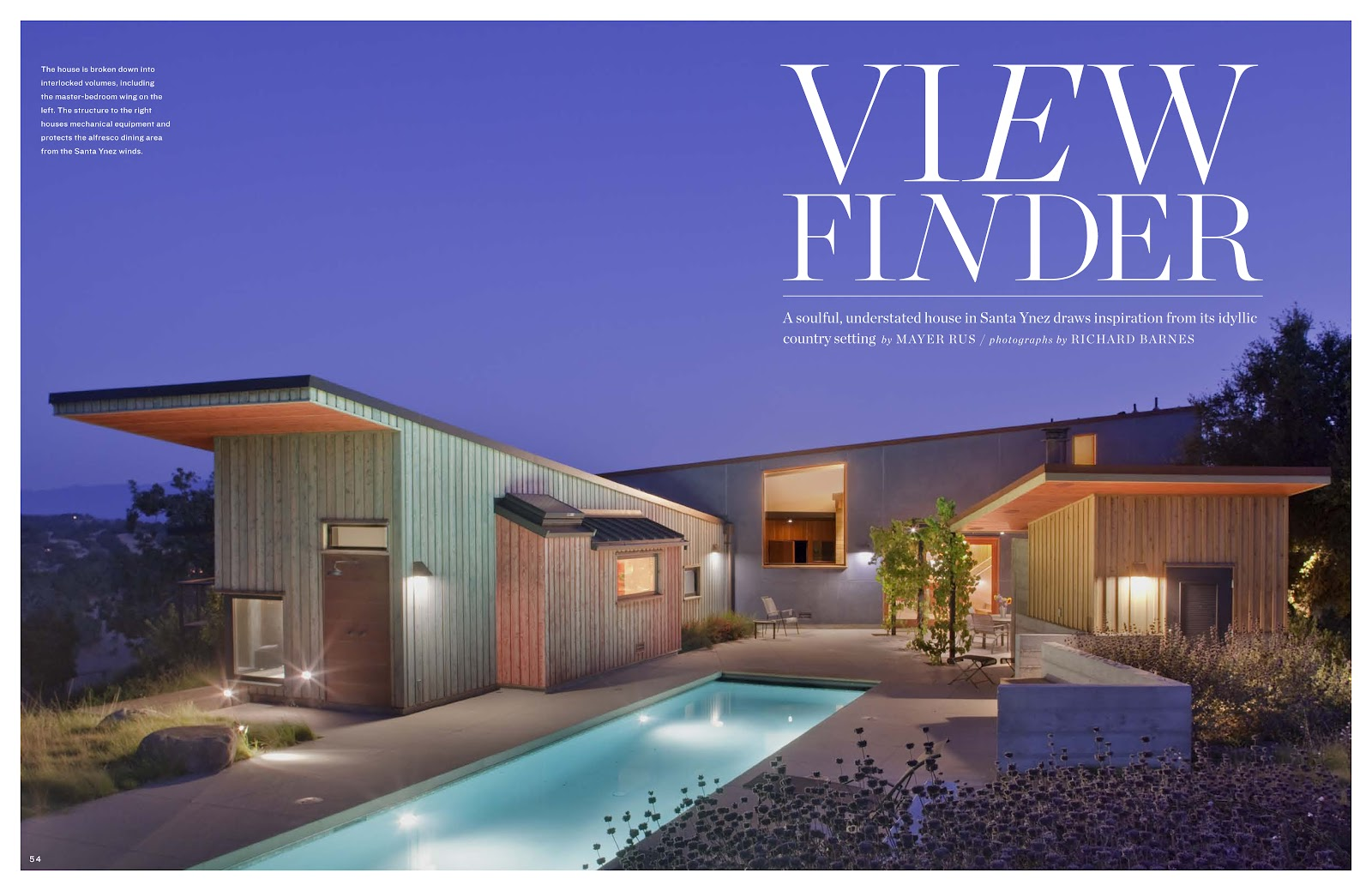 Fernau & Hartman Updates: Santa Ynez House in the LA Times Magazine