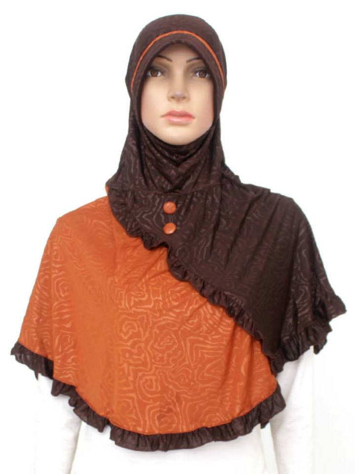jilbab cantik muslimah jl146 busana muslim baju muslim