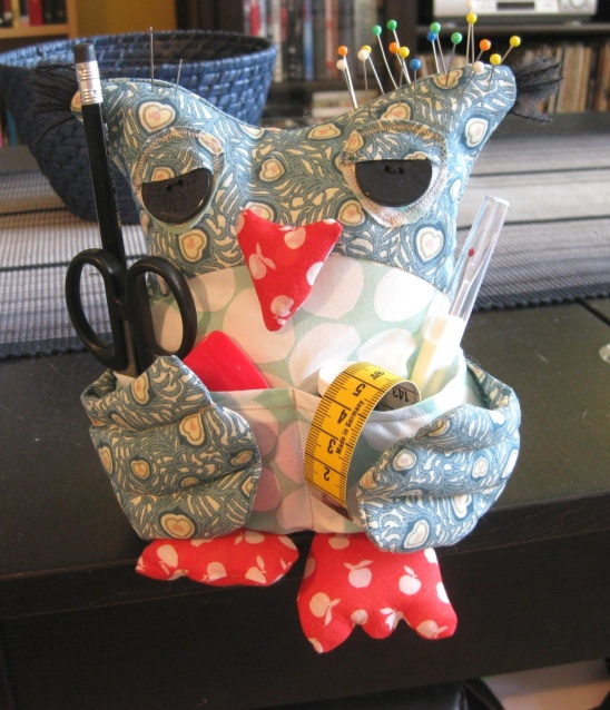 http://www.kollabora.com/projects/owl-sewing-buddy