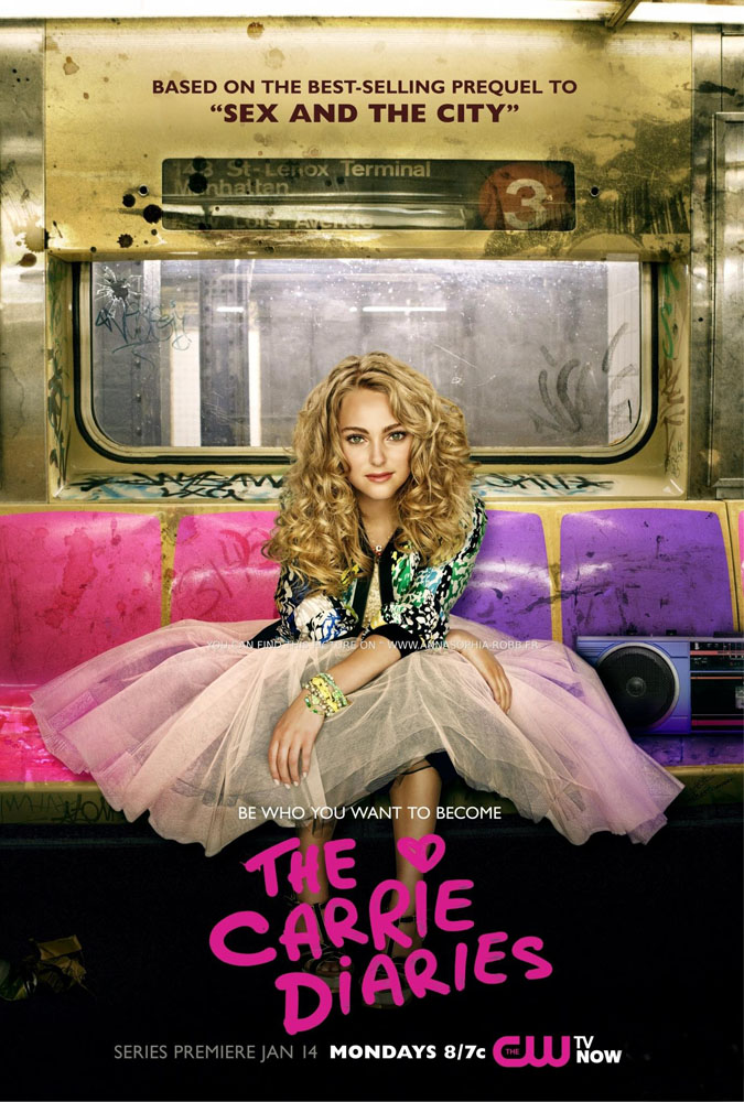 The Carrie Diaries Poster The Carrie Diaries 1 Temporada S01E01