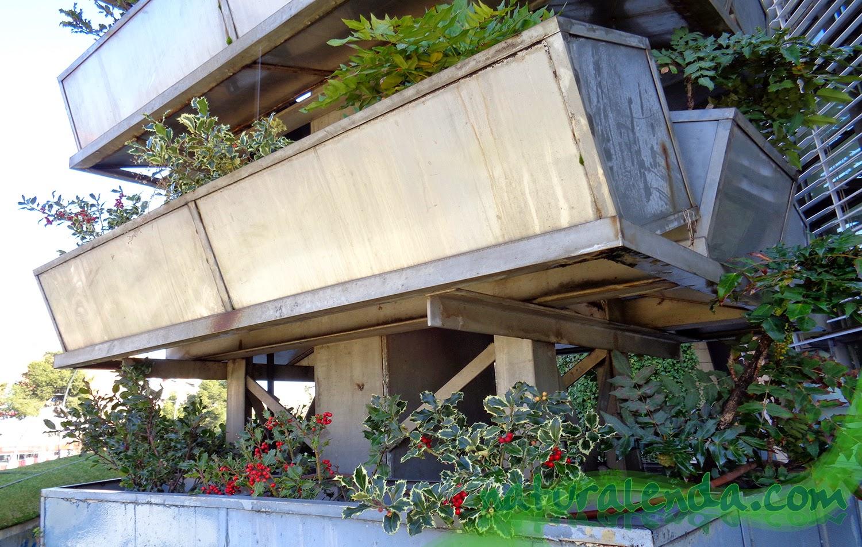 estructura del jardin vertical