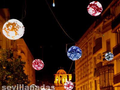 calle Rioja Navidad 2012 Sevilla