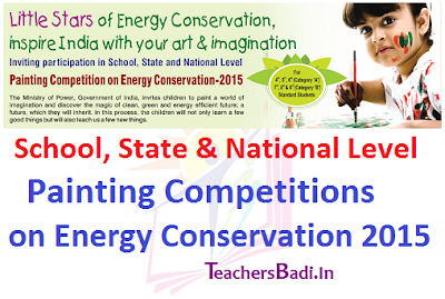 Painting Competitions,Energy Conservation 2015, AP