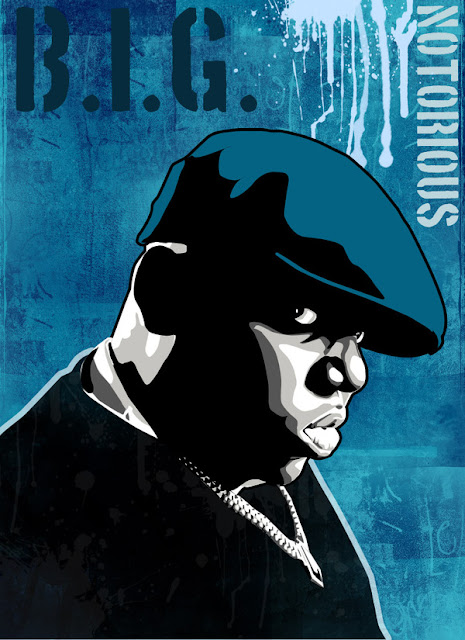 blue notorious illustrations
