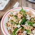 Sałatka z gorgonzolą i makaronem