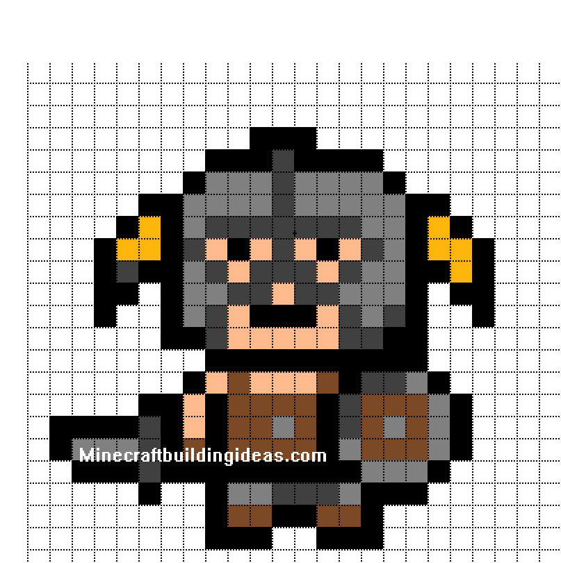 minecraft pixel art templates .
