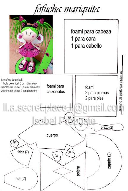 Fofuchas y patrones en español - Imagui
