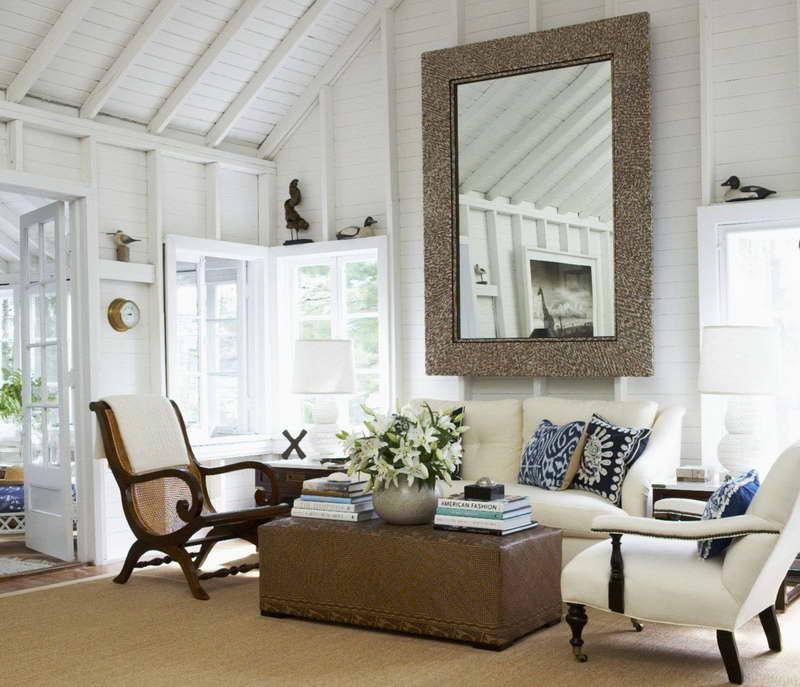 Nautical decor home interior design nautical handcrafted for Cottage interior designs ideas