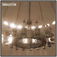 lampu gantung masjid 11