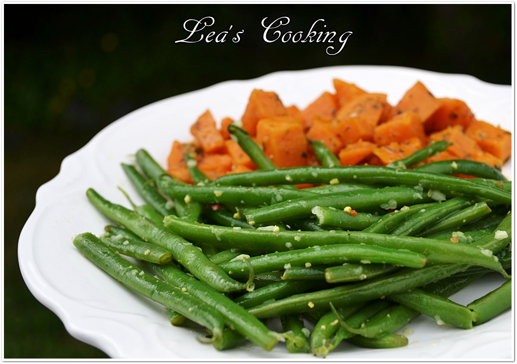 ... dress up plain green beans for an easy side dish tender flexible green