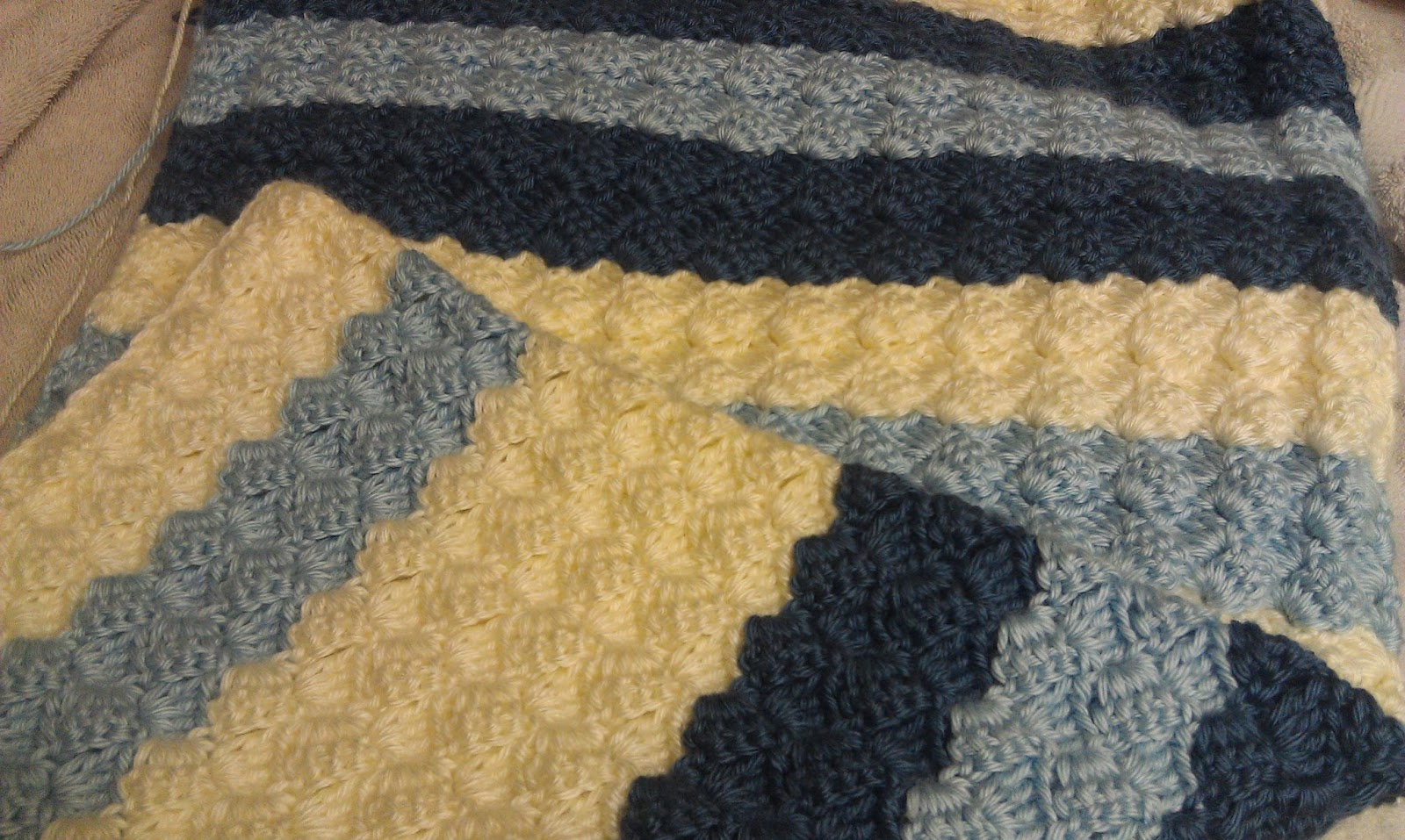 New Crochet Baby Afghan Patterns : Missed Stitches Crochet: A New Year And A New Pattern!