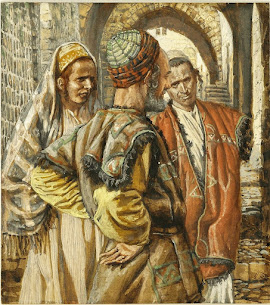 Stations of the Cross: The Fifth Station, Simon of Cyrene Helps Jesus to Carry the Cross