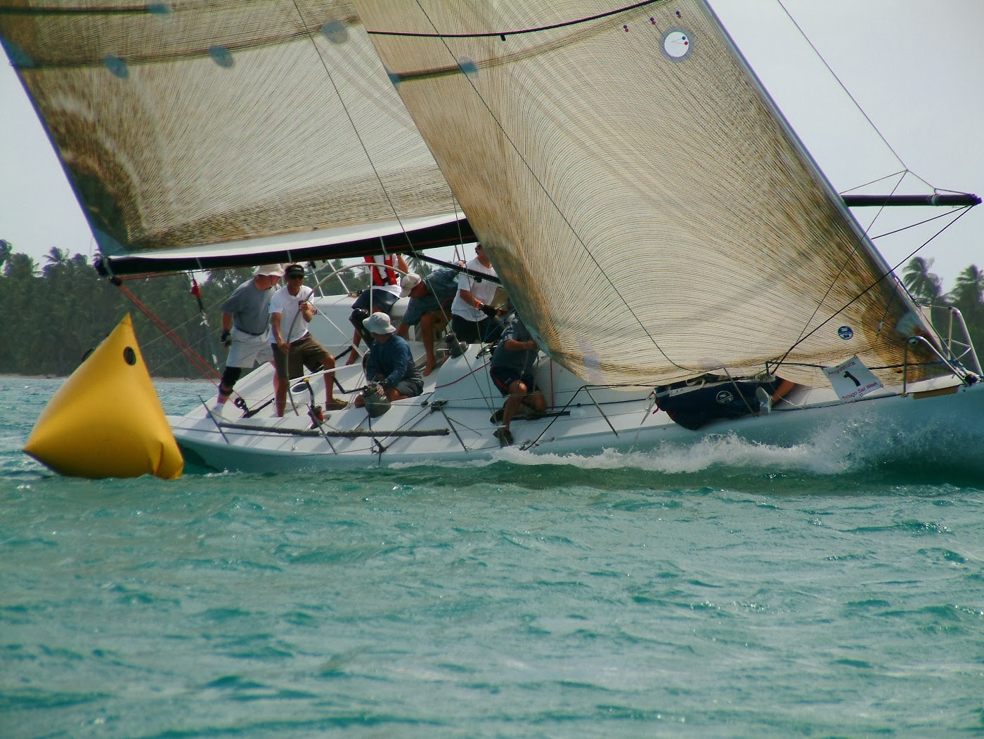 Yacht racing photography Pushing to the limits