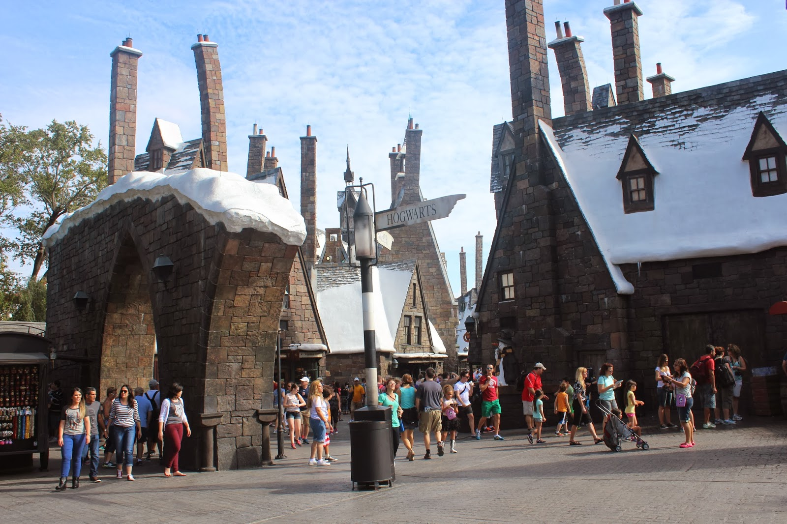 wizarding world of harry potter disney world universal studios