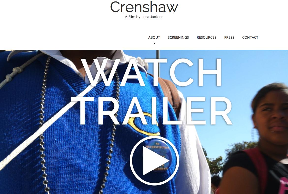 Crenshaw: a film by Lena Jackson