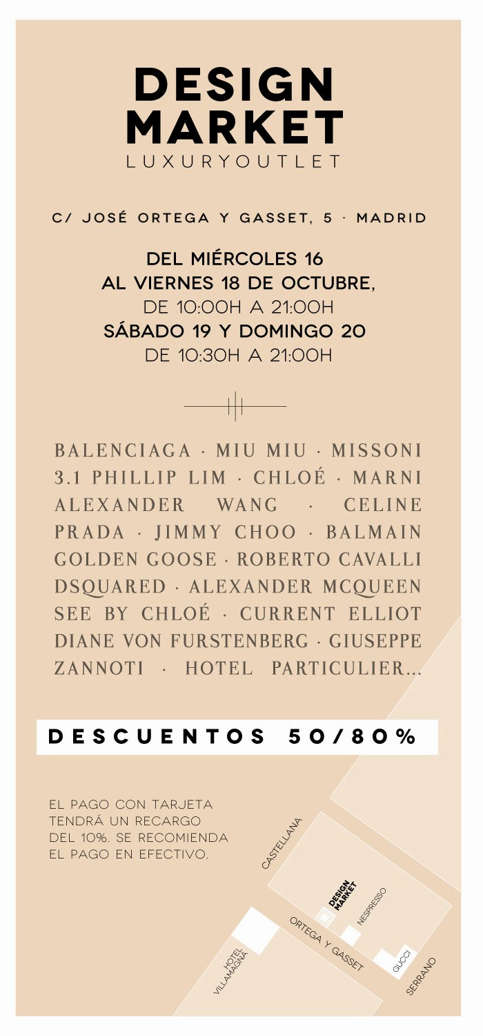 DESIGN MARKET OUTLET EN MADRID