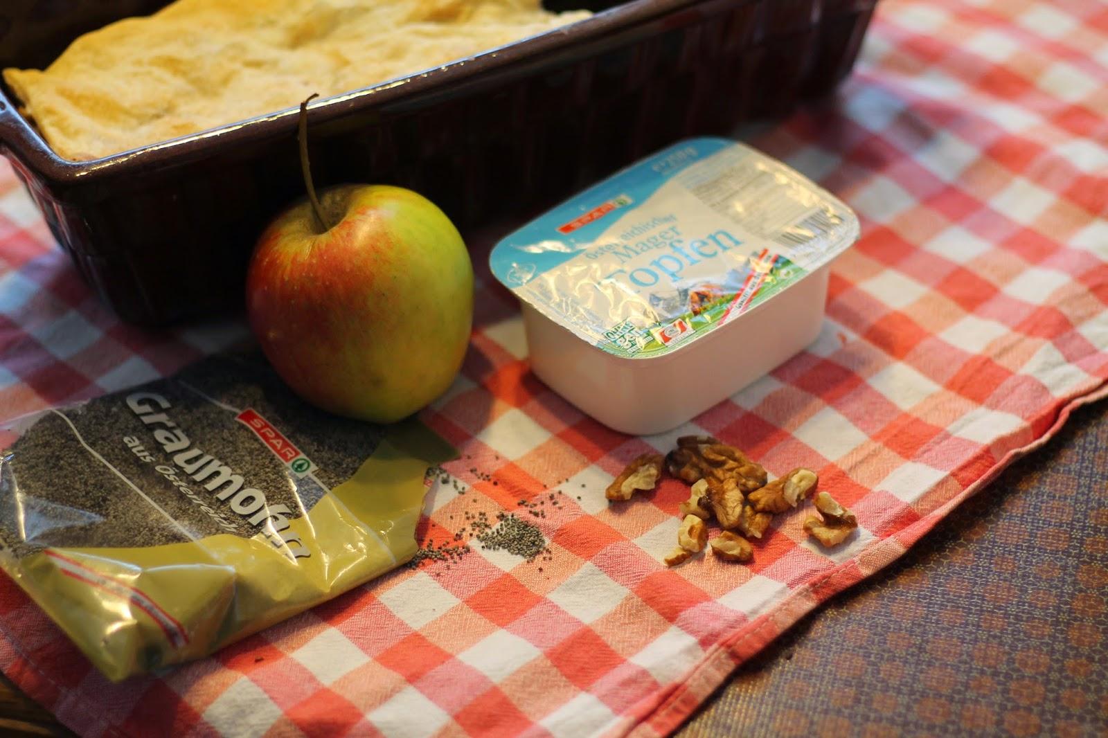 Rezept Prekmurska Gibanica Slowenischer Schichtkuchen / Cleane Version / Clean Cooking / Gesundes Dessert / Gesunde Nachspeise /