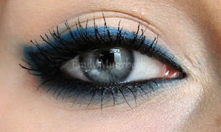 Something Blue Wedding Ideas - Blue Eyeshadow Makeup