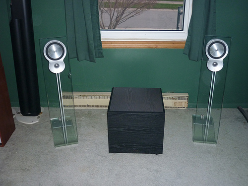 Celestion glass speakers & Rochester High End Audio: Celestion glass speakers