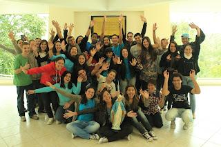 Jovens de diferentes paróquias participam da formação rumo a JMJ