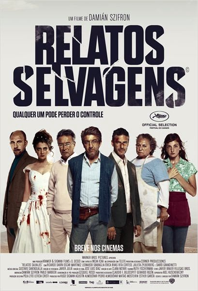 "Poster do filme ""Relatos Selvagens"""