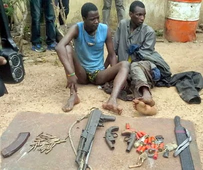 armed robber ghana killed ogun