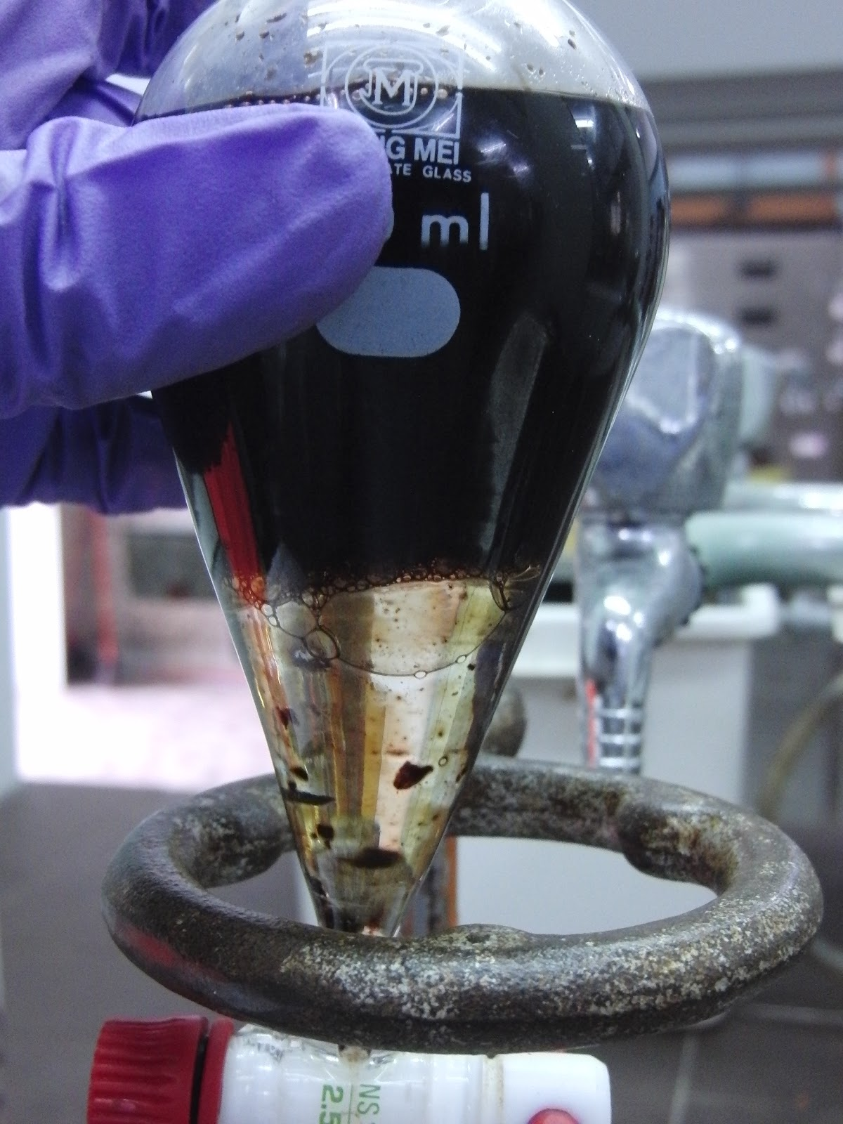 an experiment to extract crude caffeine from tea leaves Caffeine from tea leaves, caffeine must be present as the free base (amrita, 2013) in order to do so, the above-mentioned acidic substances must remain water-soluble.