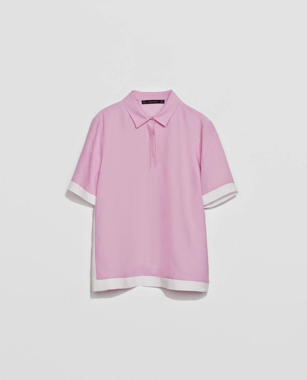 Polo, Rosa, Zara, Pink, street style, fashion style