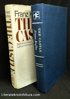 franz kafka the castle modern library without dusk jacket cloth binding