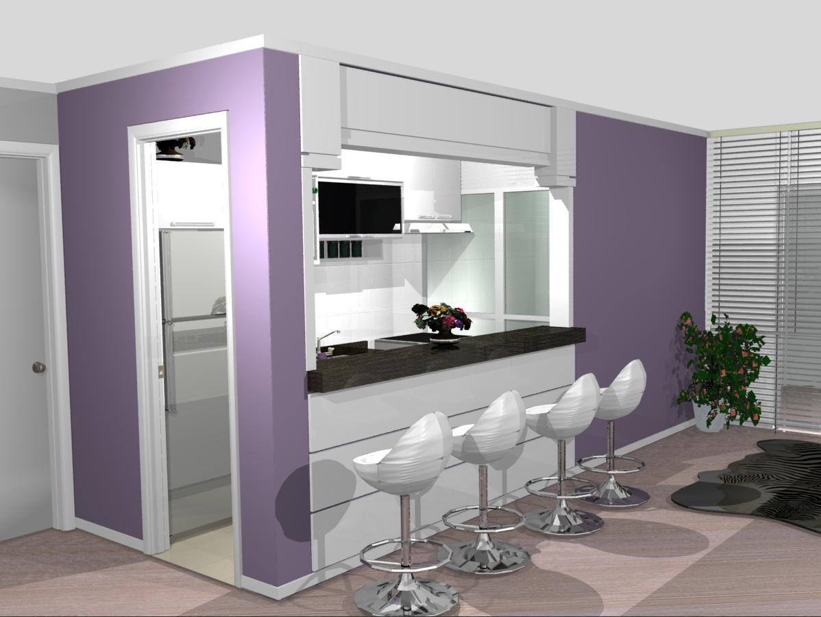#6B5378 Cel (11) 98477 3234: cozinhas planejadas cozinhas simples pequenas  1198x901 px Projeto De Cozinha Com Sala Pequena #2847 imagens